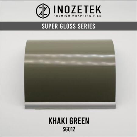 INOZETEK SUPER GLOSS KHAKI GREEN