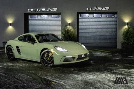 Porsche Cayman Inozetek Khaki Green