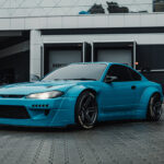 Nissan Silvia S15 Inozetek Miami Blue
