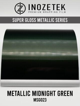 INOZETEK SUPERGLOSS METALLIC MIDNIGHT GREEN